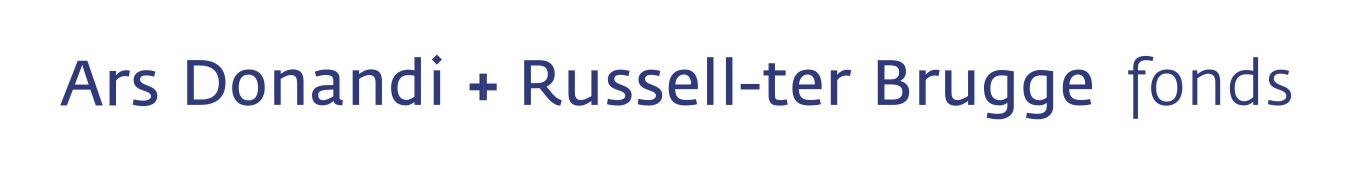 Logo: AD Russell ter Bruggefonds